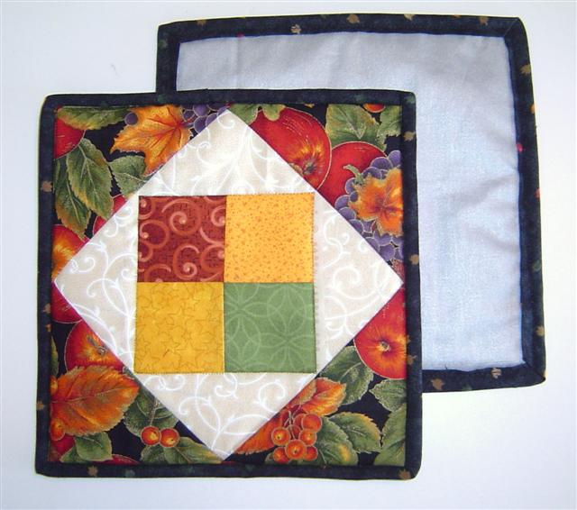 Four Square Potholders