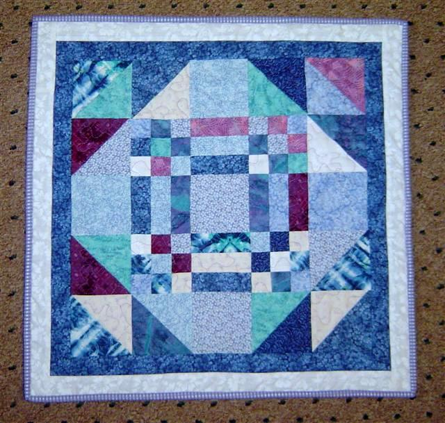 Goose in the Pond quilt