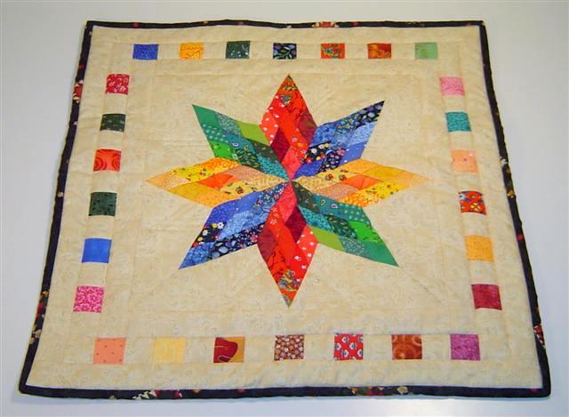 Nine Patch Diamond quilt