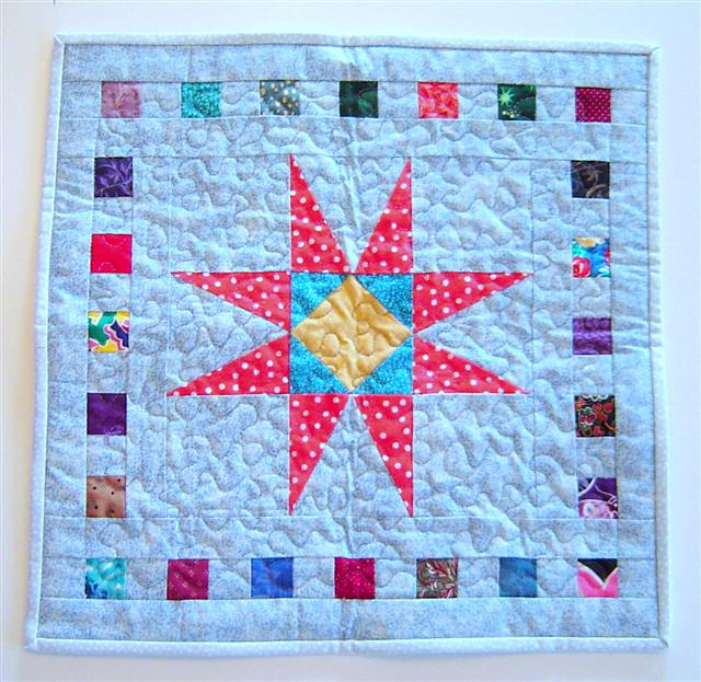 Pineapple Star quilt.