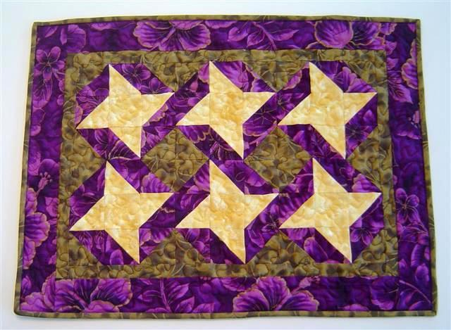 Ribbon Star quilt
