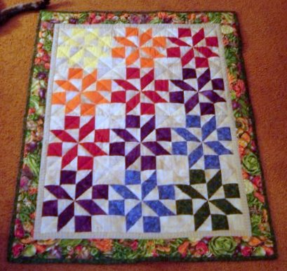 Shooting Star quilt
