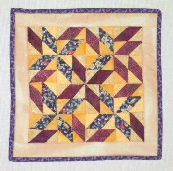 Dancing Pinwheel quilt