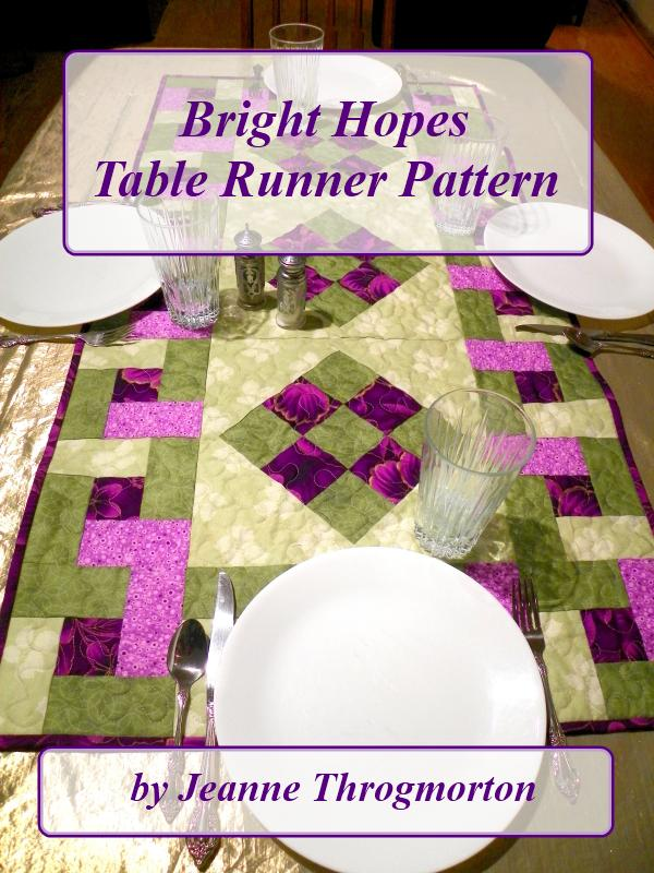 Bright Hopes Table Runner Pattern